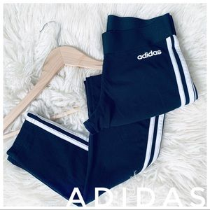 ADIDAS stretchy three stripe leggings